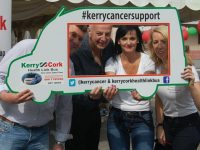 Bobby Kerr Helps Launch Newly Refurbished Kerry Cancer Support Group Offices
