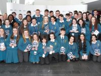 Pictured are Mercy Secondary School Mounthawk at the Bord Gáis Energy Student Theatre Awards. The school took home two awards from the ceremony on Thursday at the Bord Gáis Energy Theatre