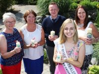 At the launch of 'Celebration of Light' Rose of Tralee Elysha Brennan with Eileen Commorford, Grace O'Donnell, Kenneth Reynolds and Christine McAuliffe. Photo by Gavin O'Connor.
