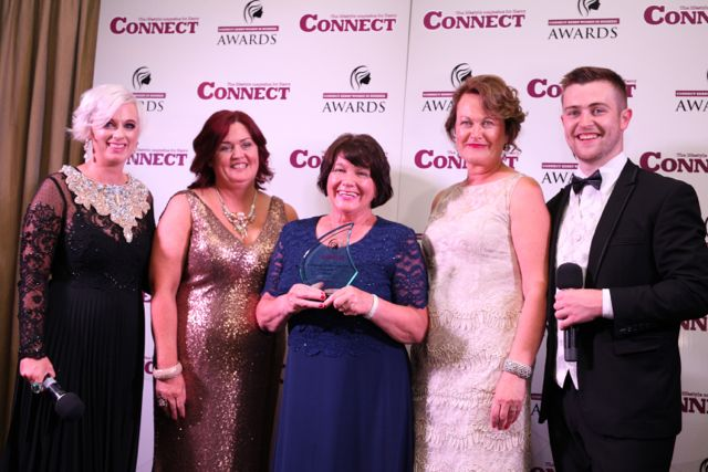 Orlagh Winters, Margaret Kissane, Breeda Hurley (Winner of Lifetime Achievement), Bernie Falvey and Brendan Fuller.