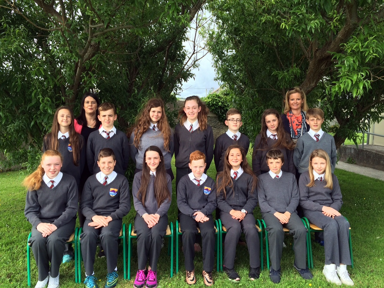 The Sixth Class pupils from St Brendan's NS Fenit who graduated last week.