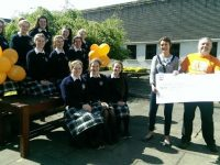 The cheque was presented to Mr. Tom Barrett of the Kerry Branch of Arthritis Ireland.