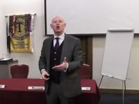 Toastmaster, Eric Fitzpatrick.