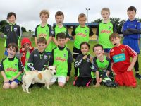 Young Gaelic Footballers taking part in the Ballymacelligott GAA Cúl Camp this week. Photo by Gavin O'Connor.