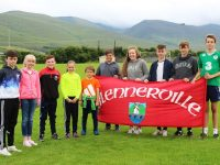 Tomas O Sullivan, Katie Dwyer,   Danny Greaney, Rachel O Mahoney,  David Walsh, Sean Fitzgibbon, Isabelle Lynch, Darach Gallagher, Cathal Fitzgibbon and Oisin Spillane  will represent Blennerville/Ballyard at the Community Games in August. Photo by Gavin O'Connor.