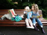 Pictured: Little Readers Zane (5) from Raheny, Millie (4) from Tallaght, and Doireann (5) from Dundalk let their imaginations run wild as they launch the Bord Gais Energy Little Readers programme. Bord Gais Energy is giving away 5,000 free books to children all across Ireland aged 5 and under. To avail of a free story book, simply register now www.bordgaisenergybookclub.ie.