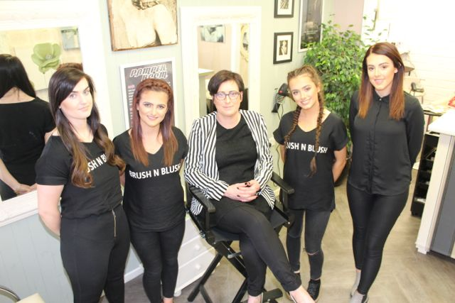Sponsored brush 39 n 39 blush to host girls pampering evening for A maureen mccarthy salon