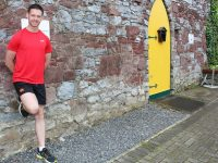 Tom Foley will attempt to run 20 marathon's in 10 days. Photo by Gavin O'Connor.