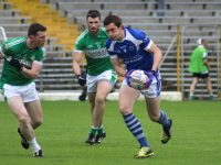 David Moran on the ball  in the Killarney Legion v Kerins O'Rahillys game on Sunday. Photo by Dermot Crean