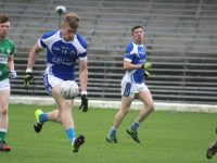 Tommy Walsh on the ball  in the Killarney Legion v Kerins O'Rahillys game on Sunday. Photo by Dermot Crean