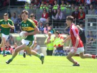 David Clifford in action against Cork in the Munster Final. Photo by Gavin O'Connor.