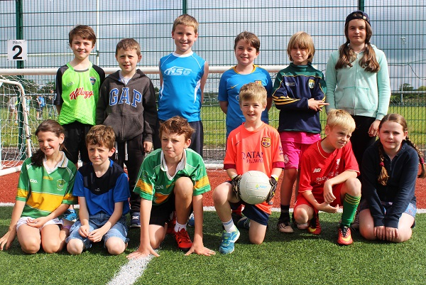 U10 players. Photo by Gavin O'Connor.