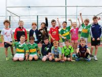 U8 players. Photo by Gavin O'Connor.