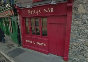Bettys Bar on Strand Street.