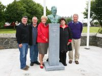 Great Grandniece Of Roger Casement Visits Memorial In Ardfert