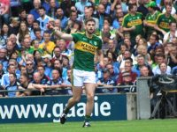 Payl Geaney in action in the All-Ireland semi-final against Dublin. Photo by Dermot Crean.