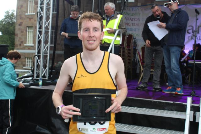 Steven Young at the Rose of Tralee 10k Run on Sunday afternoon. Photo by Dermot Crean