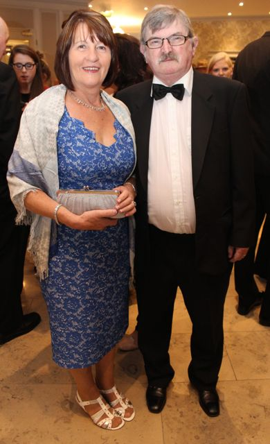 Bridget and Brendan Sweeney at The Rose Hotel before the Rose Ball on Friday evening. Photo by Dermot Crean