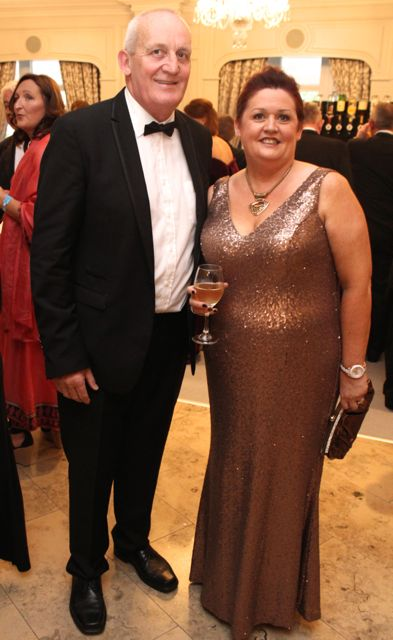 Sean and Margaret Kissane at The Rose Hotel before the Rose Ball on Friday evening. Photo by Dermot Crean