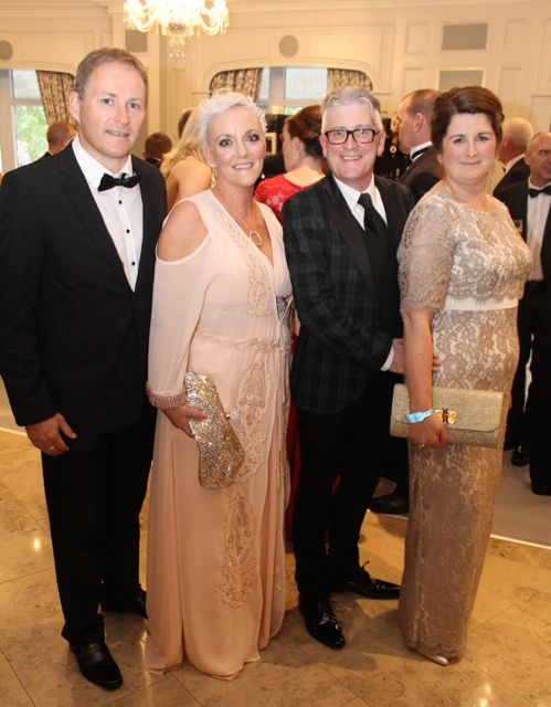 JJ Coffey, Jill Hannon, Danny and Ann Leane at The Rose Hotel before the Rose Ball on Friday evening. Photo by Dermot Crean