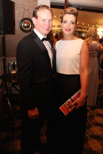 Colm Boyle and Martina McElligott at The Rose Hotel before the Rose Ball on Friday evening. Photo by Dermot Crean