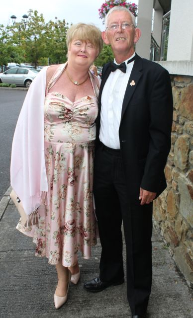 Annie and Sam Locke at The Rose Hotel before the Rose Ball on Friday evening. Photo by Dermot Crean