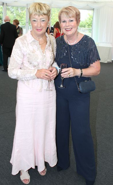 Mary Fleming and Lilibeth Horan at the Rose Ball on Friday evening. Photo by Dermot Crean