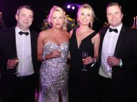 Brendan O'Sullivan, Denise O'Riordan, Mr and Mrs Ashley Tobin at the Rose Ball on Friday evening. Photo by Dermot Crean