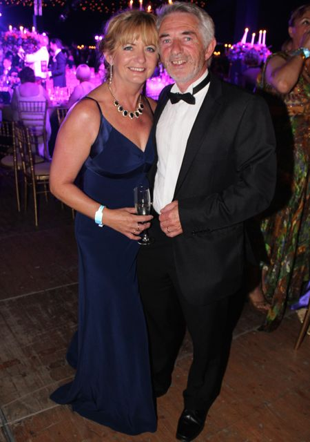 Maureen and Derry Fleming at the Rose Ball on Friday evening. Photo by Dermot Crean