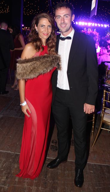 Jennifer and Paudie Bailey at the Rose Ball on Friday evening. Photo by Dermot Crean