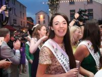 Tyrone Rose Genevieve Scullion at the civic reception on Tuesday night. Photo by Dermot Crean
