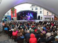 All seat taken at The Showband Show in The Square on Thursday night. Photo by Dermot Crean