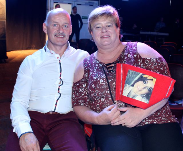 Richie and Martina Hannafin at the Austin Stacks Strictly Come Dancing night in The Dome on Saturday. Photo by Dermot Crean