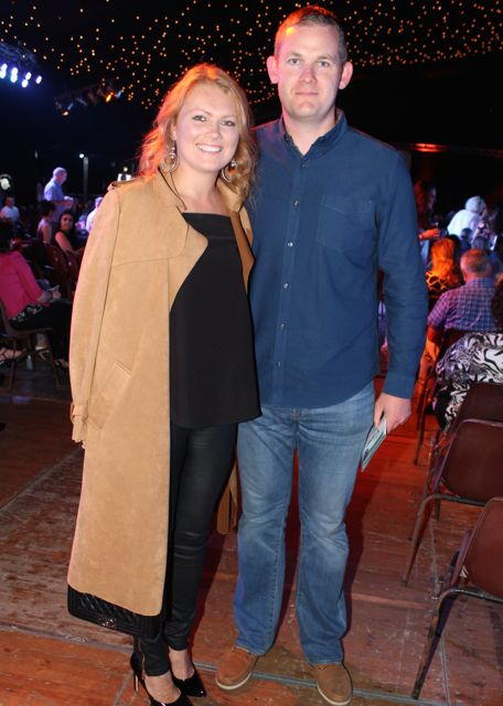 Ciara and Noel Healy at the Austin Stacks Strictly Come Dancing night in The Dome on Saturday. Photo by Dermot Crean