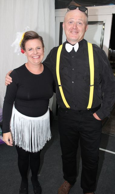 Kathleen Raymond and John Clifford at the Austin Stacks Strictly Come Dancing night in The Dome on Saturday. Photo by Dermot Crean
