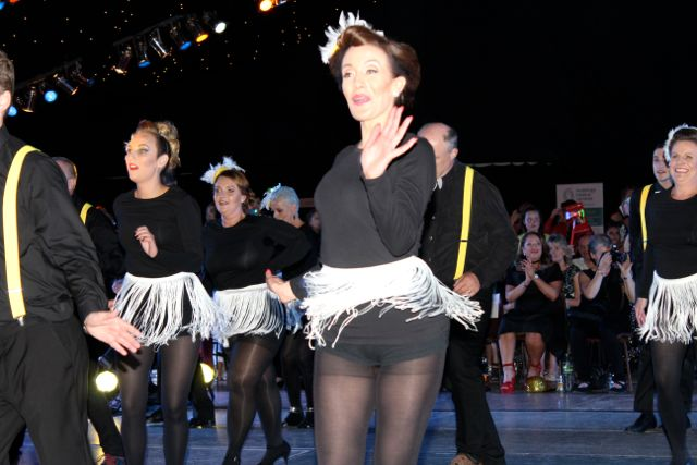 Dancers at the Austin Stacks Strictly Come Dancing night in The Dome on Saturday. Photo by Dermot Crean