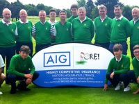 The victorious Tralee Golf Club who won the AIG Munster Junior Cup.