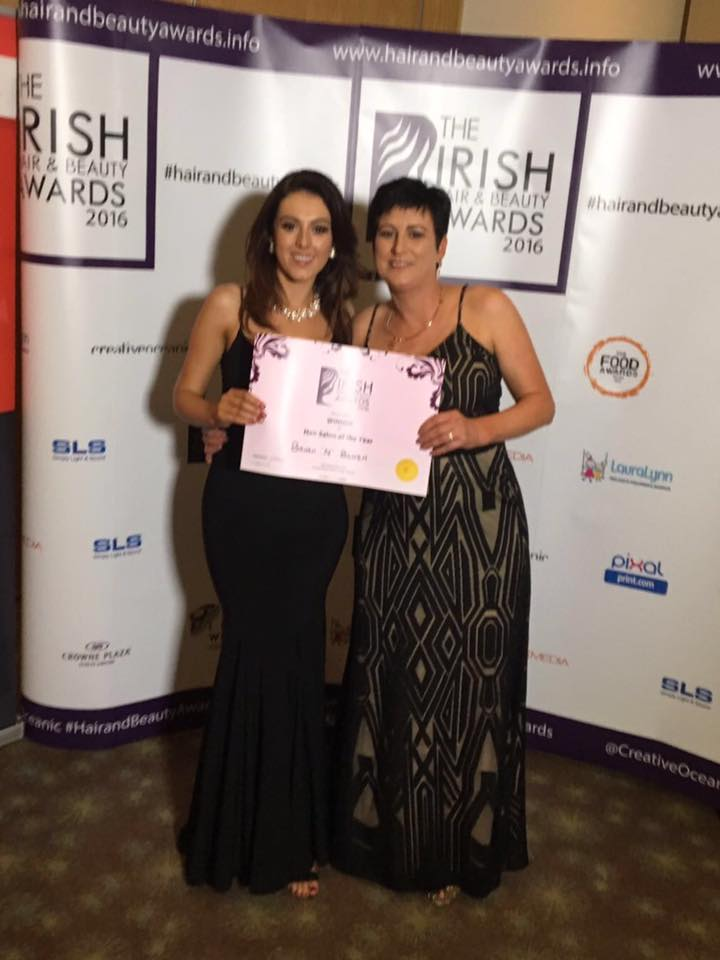 Tralee business wins at irish hair and beauty awards for A maureen mccarthy salon
