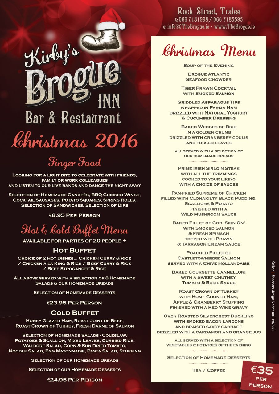 Brogue Xmas Parties