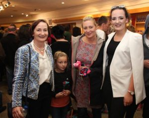 Anne O'Dwyer, Sarah Mangan, Miriam Galvin, Phena Mulligan at the Culture Night activities in Siamsa Tire. Photo by Dermot Crean