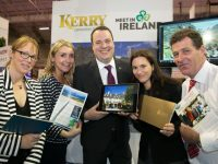 Kerry tourism trade took centre stage at the inaugural Connect16 - Ireland's largest ever showcase for the meetings and events sector which was held in the RDS, Dublin on Wednesday (28th September). Fáilte Ireland were a title sponsor at the event and pictured attending were Sheila King, The Sheen Falls; Becky Hargrove, Kerry Convention Bureau; Allan, O'Connor, Killarney Park Hotel; Eva Schmid, The Europe Hotel; and Toddy Doyle, Muckross Trad Farms.              Picture by Shane O'Neill Photography.
