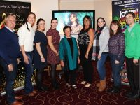 At the Tralee Musical Society open night were from left: Oliver Hurley, Susan O'Gara, Gemma Hurley, Elaine Canning, Ena O'Shea, Eileen Riordan, Natalie Murphy, Sharon Walsh and Gary Murphy. Photo by Gavin O'Connor.