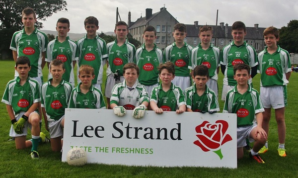 Na Gaeil U 13 Boys Team that defeated John Mitchels in the Lee Strand Plate Final in Connolly Park on Saturday Last.