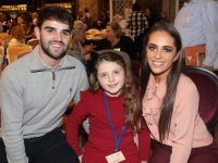 Cormac Coffey, Shonagh O'Sullivan and Brogan O'Sullivan at the Expressive Play Dr Bruce Perry conference. Photo by Gavin O'Connor.