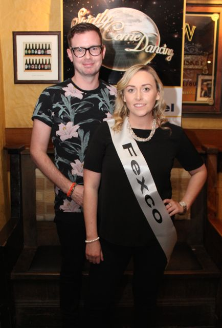 Donal Flaherty and Joanne Coffey sponsored by Fexco. Photo by Dermot Crean