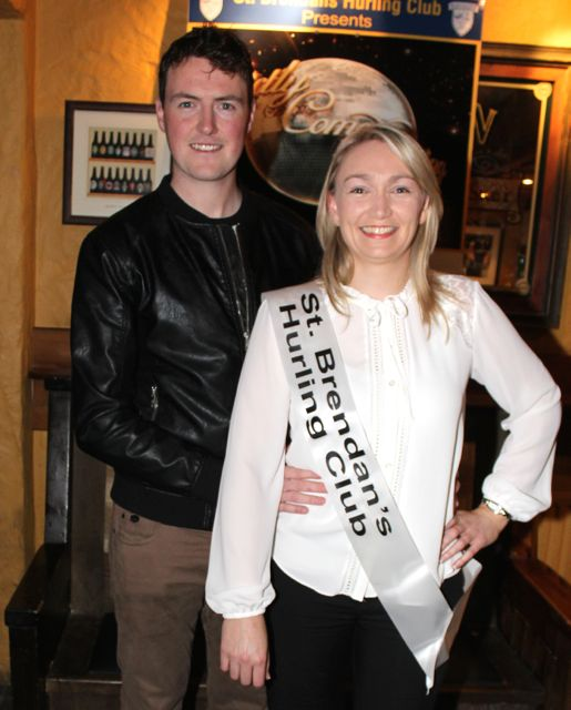 Tim Hanafin and Carol Dineen sponsored by St Brendan's Hurling Club. Photo by Dermot Crean