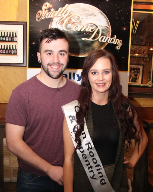 Daniel Finnegan and Olivia Fitzgibbon sponsored by Orpen Roofing and Carpentry. Photo by Dermot Crean