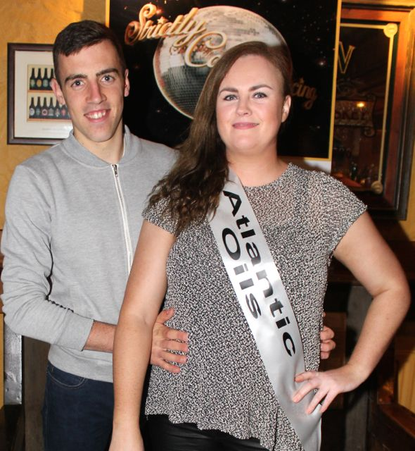 Eoghan Courtney and Ruth Wallace sponsored by Atlantic Oils. Photo by Dermot Crean