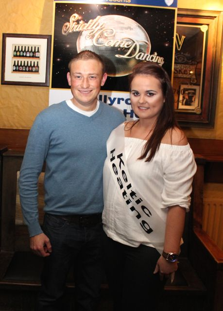 Danny Neenan and Siobhan McCrohan sponsored by Keltic Heating. Photo by Dermot Crean