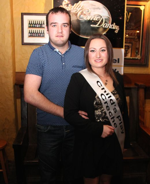 Kevin Orpen and Stephanie Lyne sponsored by Childsplay Creche. Photo by Dermot Crean